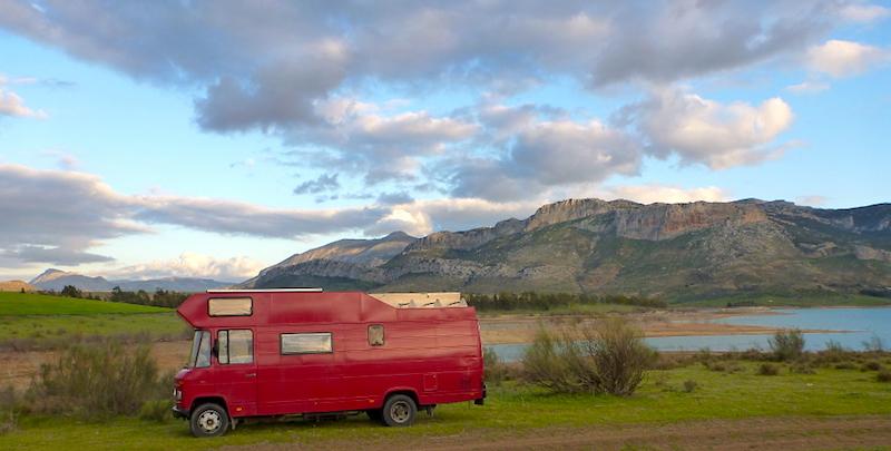 Outdoorsport in Spanien, Wild campen bei Malaga