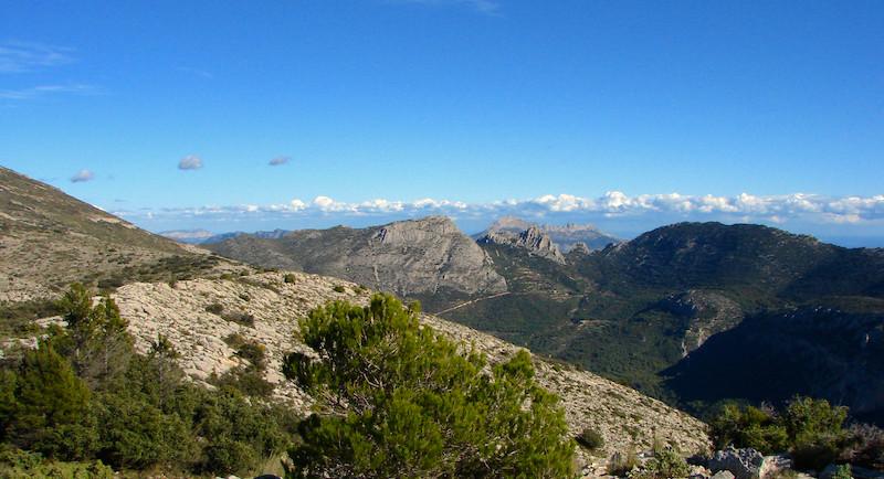 Berge bei Alicante
