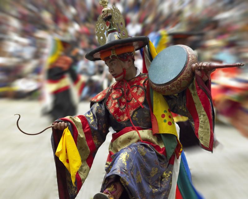 Bhutan Paro Tsechu (Festival)