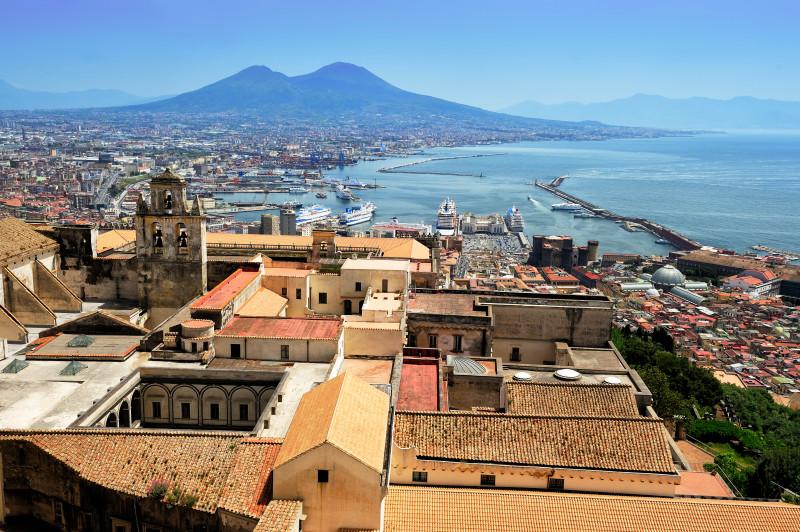 Neapel und Vesuv, Italien, Kloster San Martino