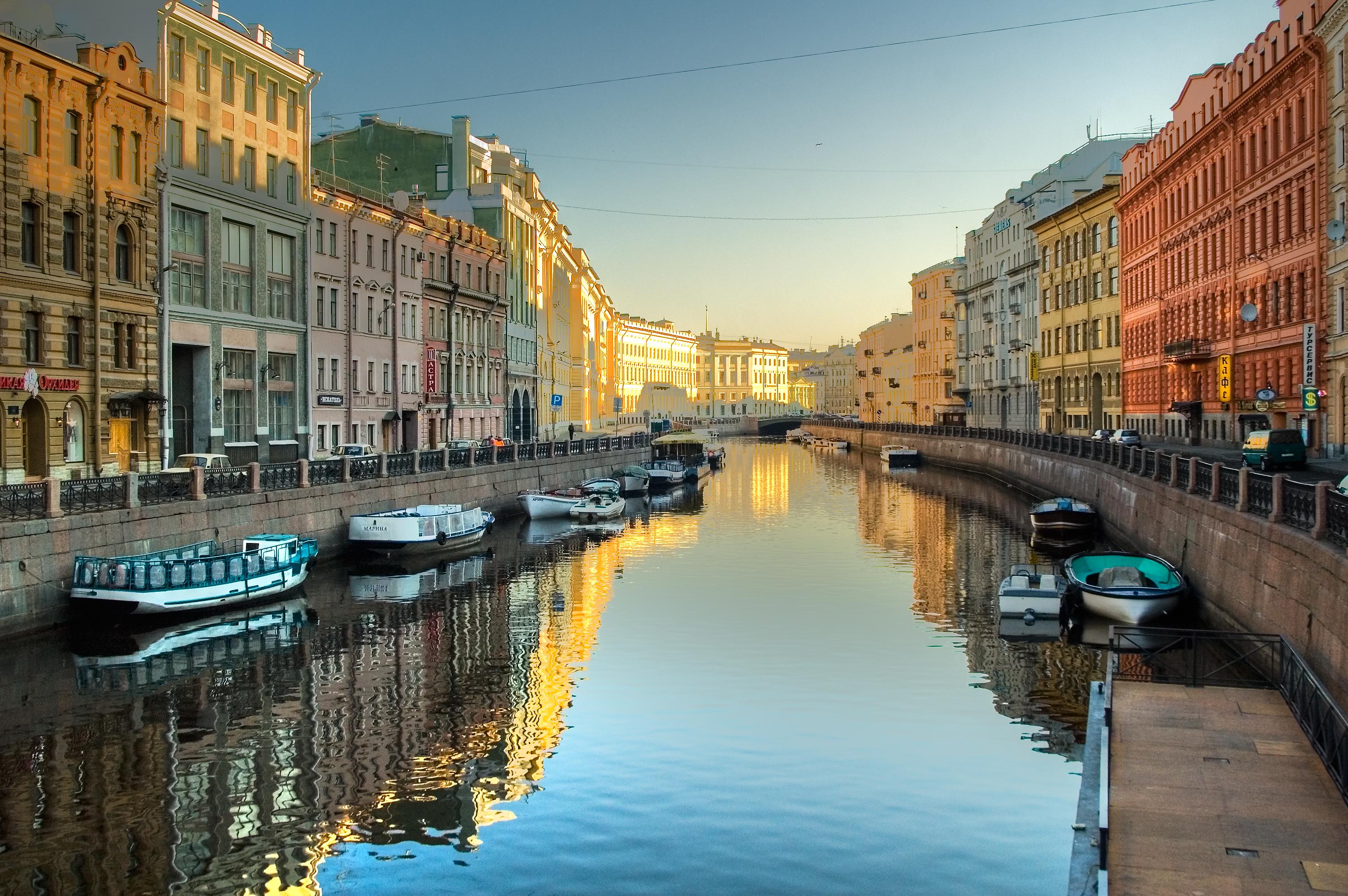 St. Petersburg Bootstour