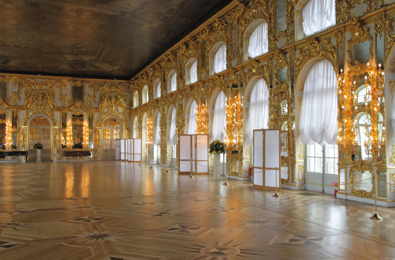 Tanzsaal des Katharinenpalasts