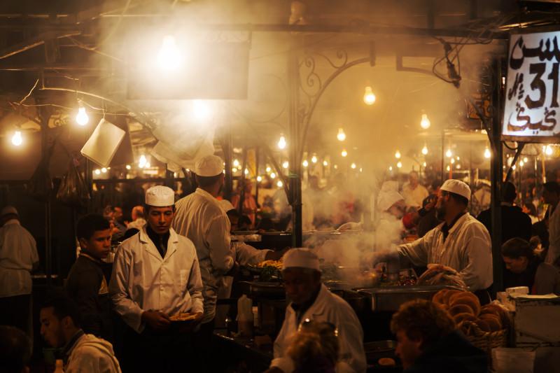 Marrakesch Garküche