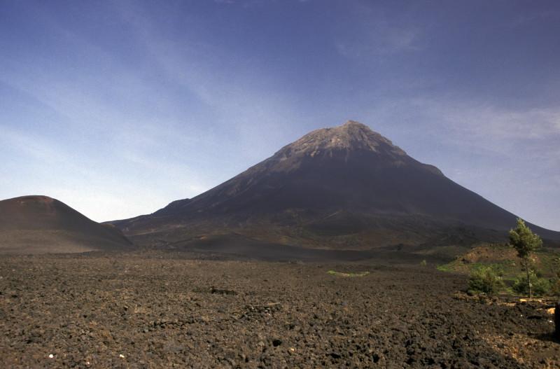 Kapverden, Vulkan Fogo