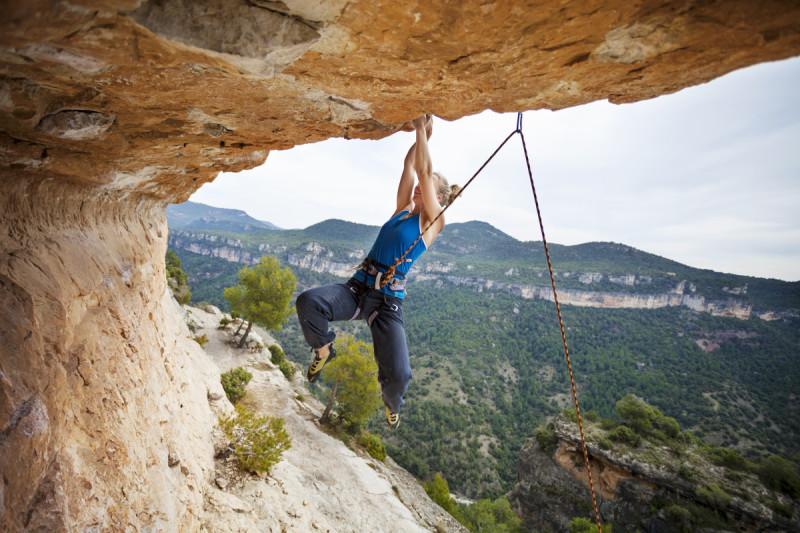 Outdoor Spanien, Klettern
