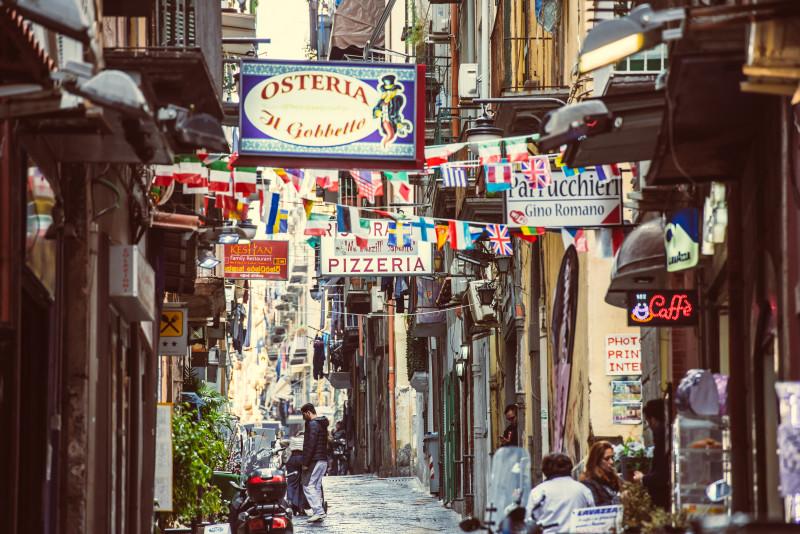 Neapel, Pizza, Altstadt