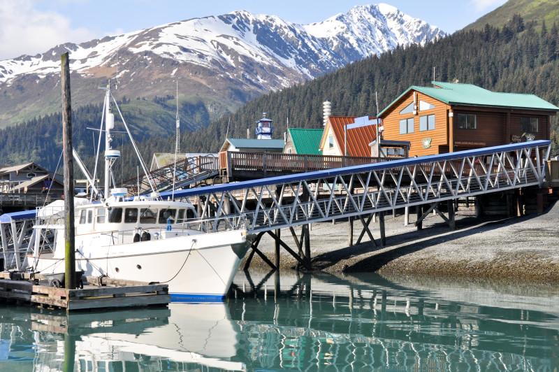 Alaska, Hafenansicht