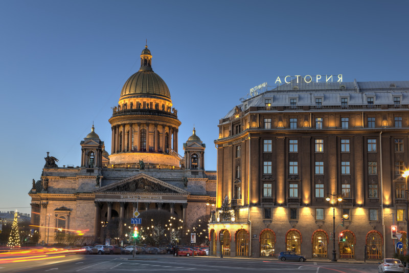 St. Petersburg, Hotel Astoria