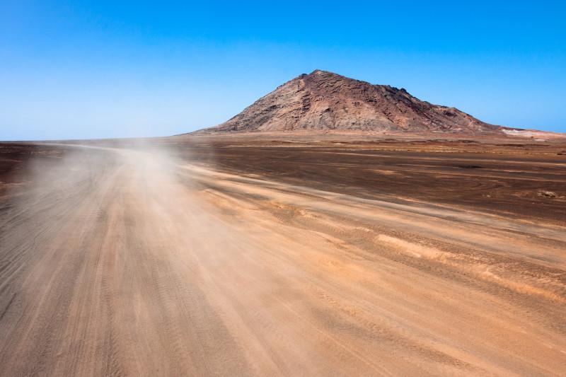 Kapverden, Sal, Vulkankrater