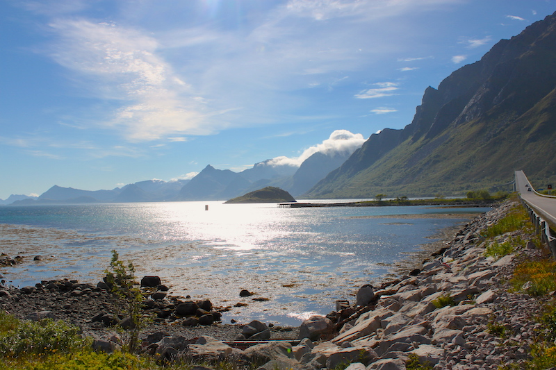 Norwegen. Lofoten, Meer und Berge
