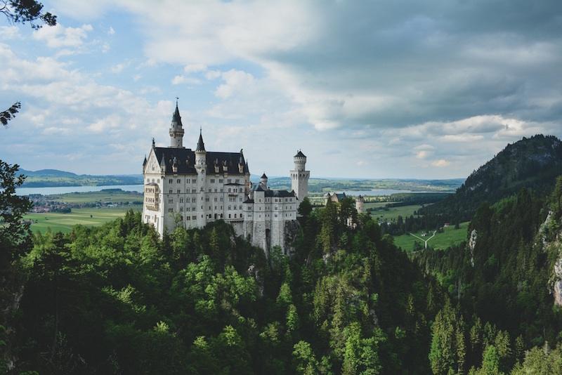 Reiseziel Deutschland, Neuschwanstein, Allgäu, König Ludwig