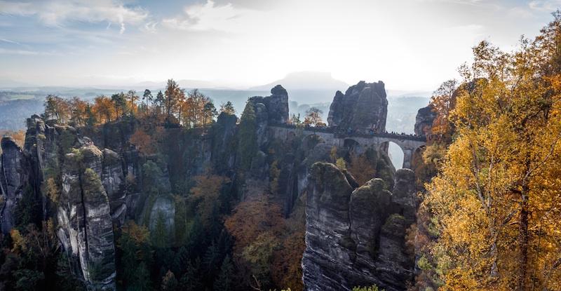 Reiseziel Deutschland, Sächsische Schweiz Bastei
