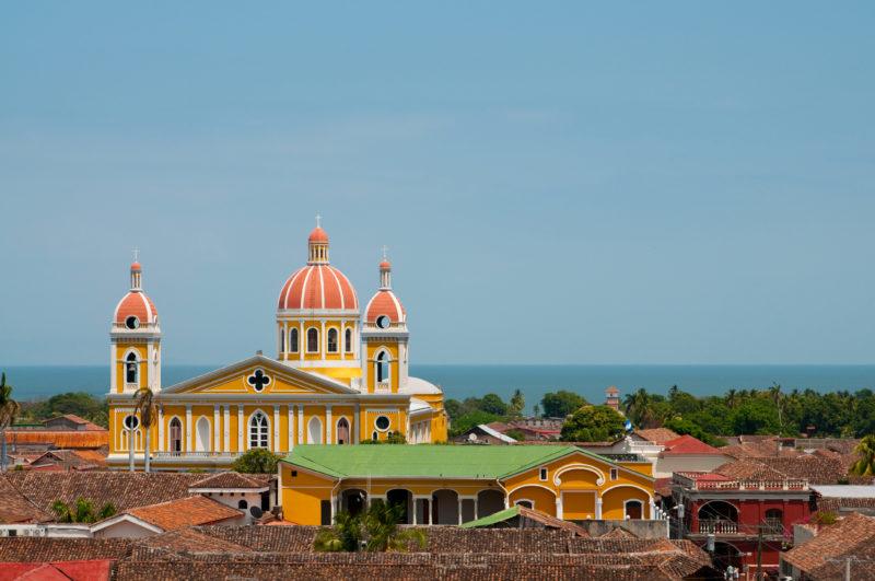 Yellow Church, Granada, Nicaragua