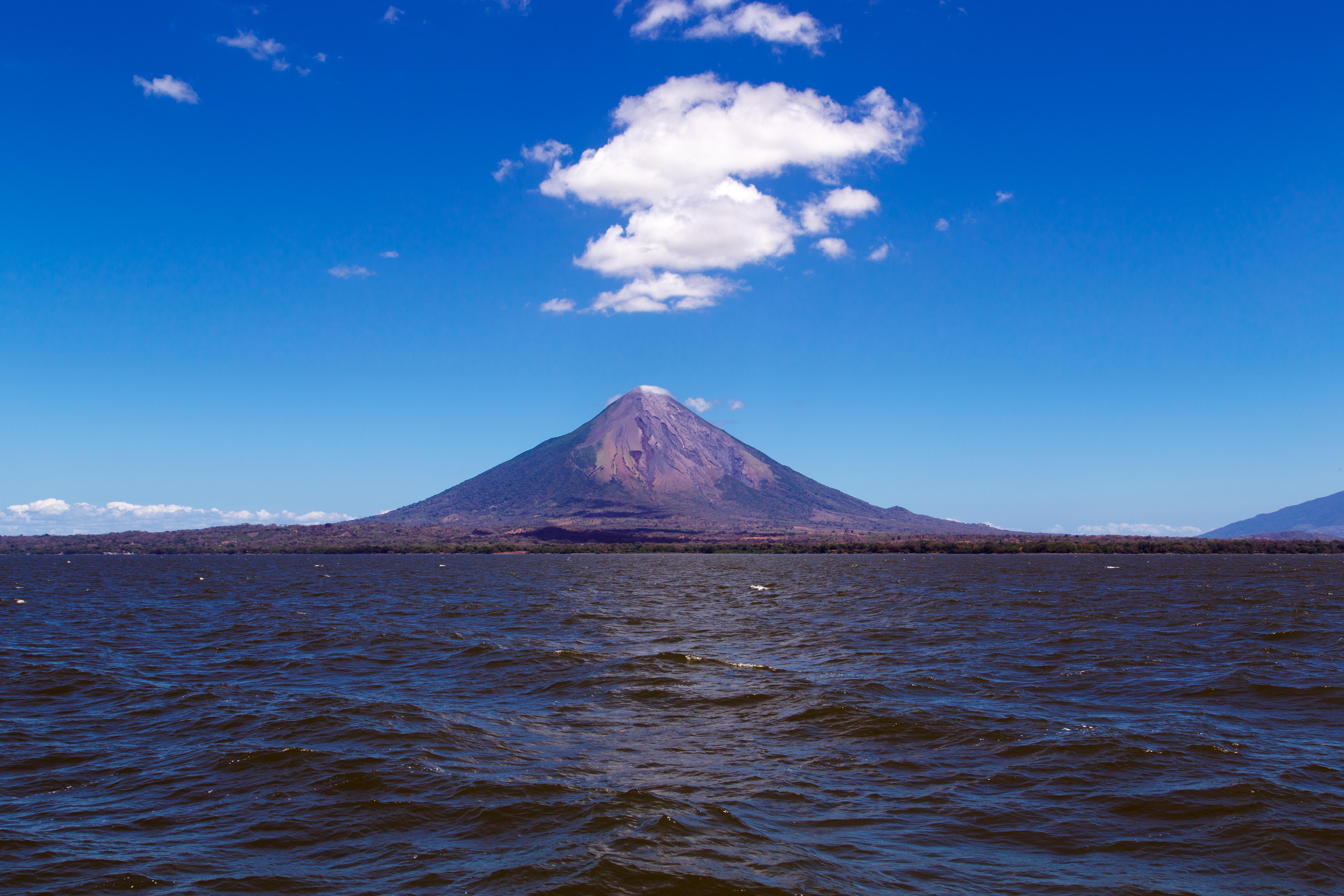 Ometepe mit seinen Vulkanen Concepción und Maderas