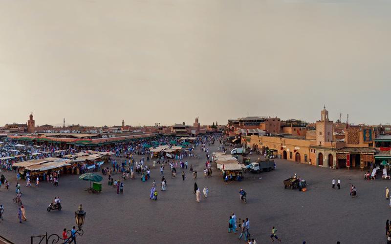 Jamaa el Fna in Marrakesch