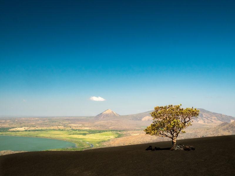 Vulkan Momotobo nahe Leon, Nicaragua