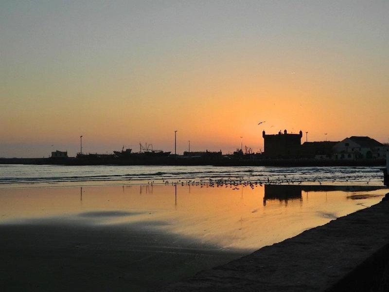Essouira Sonnenuntergang