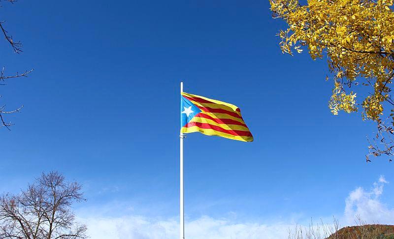 Die katalanische Flagge