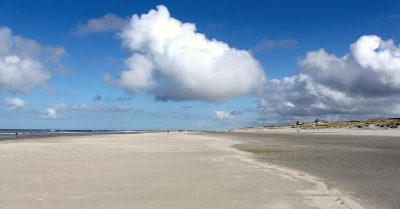 Riesiger Strand auf Juist