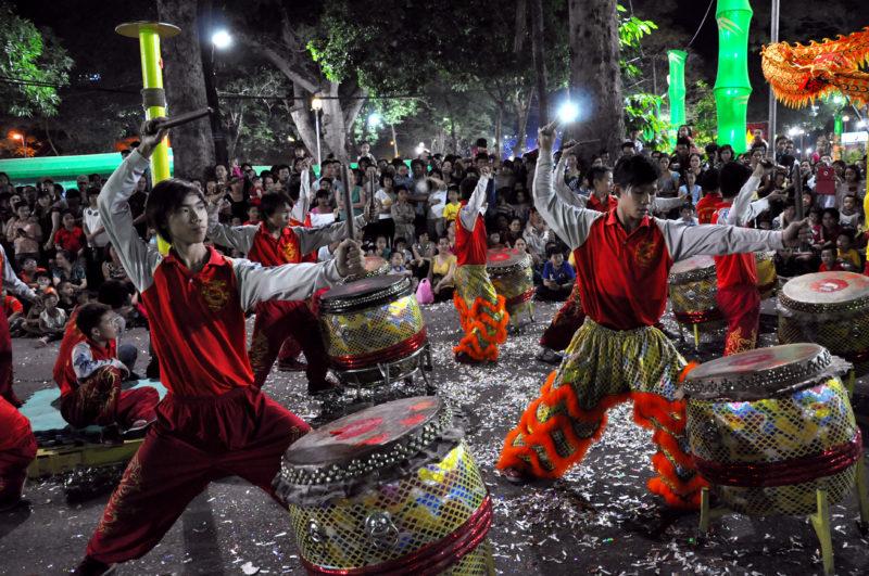 Farbenfrohe Feste in Vietnam