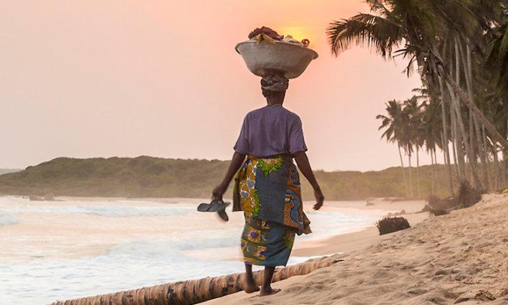Ghana stolze Frauen