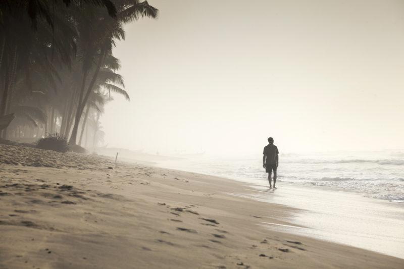 Ghana tropischer Strand
