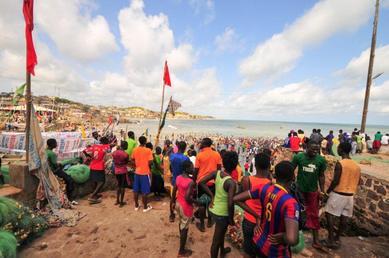 Beach, Cape Coast, Ghana
