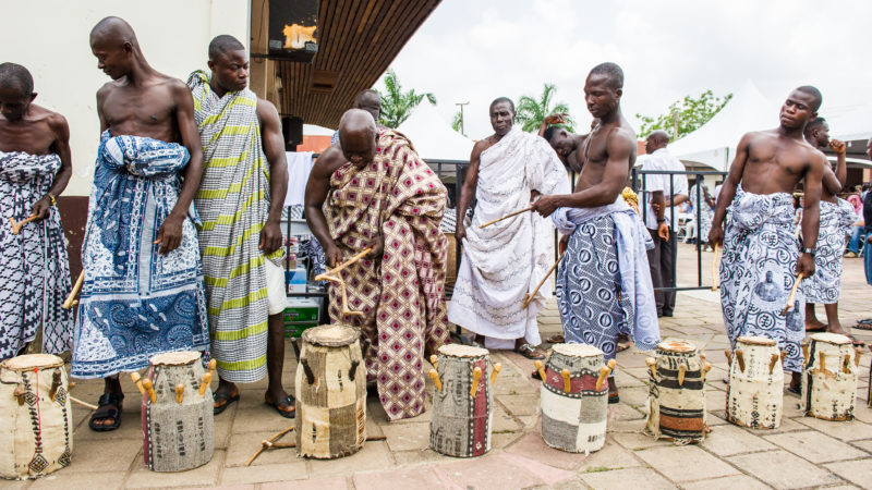Ghana Männer Musik