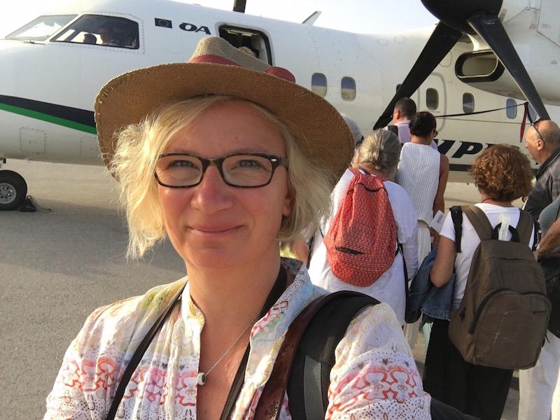 Reisemobil oder Flugzeug?