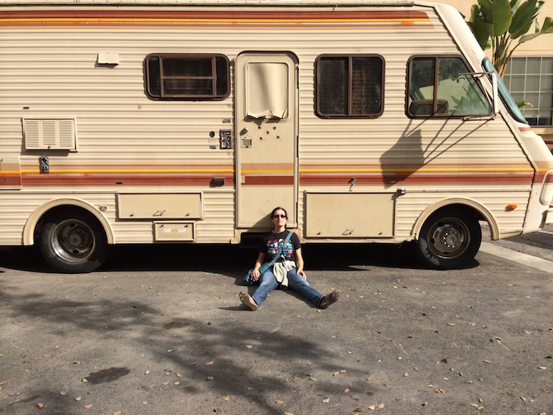 Drehort Camper Breaking Bad