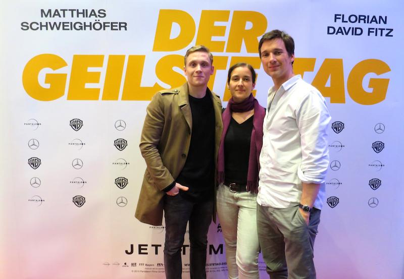 Filmtourismus, Kinotour der geilste Tag, Schweighöfer und Fitz