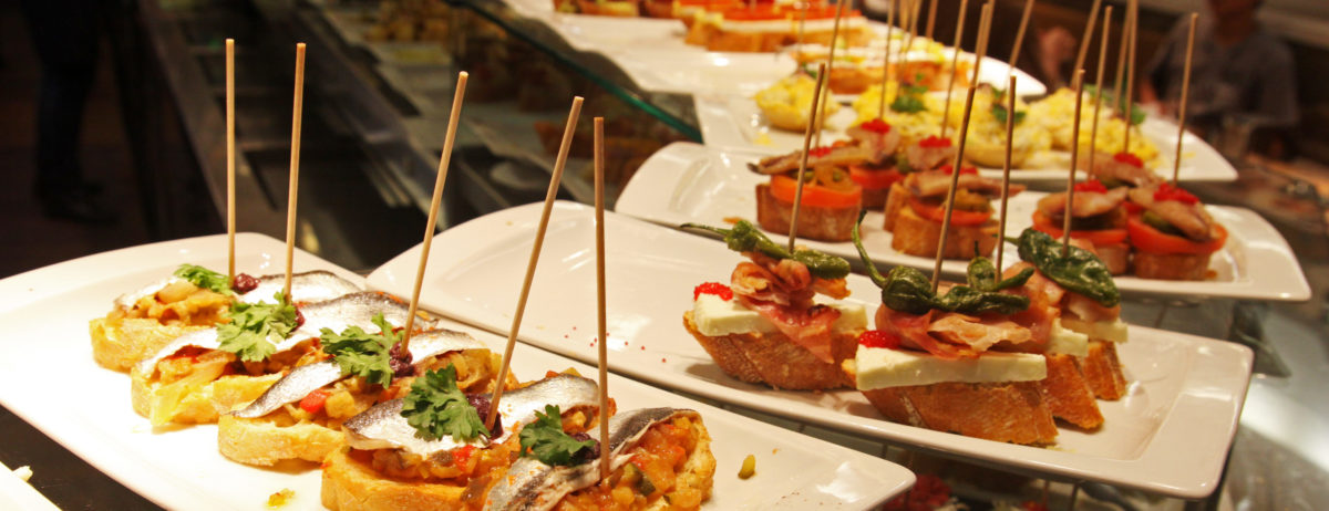 Kulinarische Reise ins Baskenland, Tapas, Pintxos