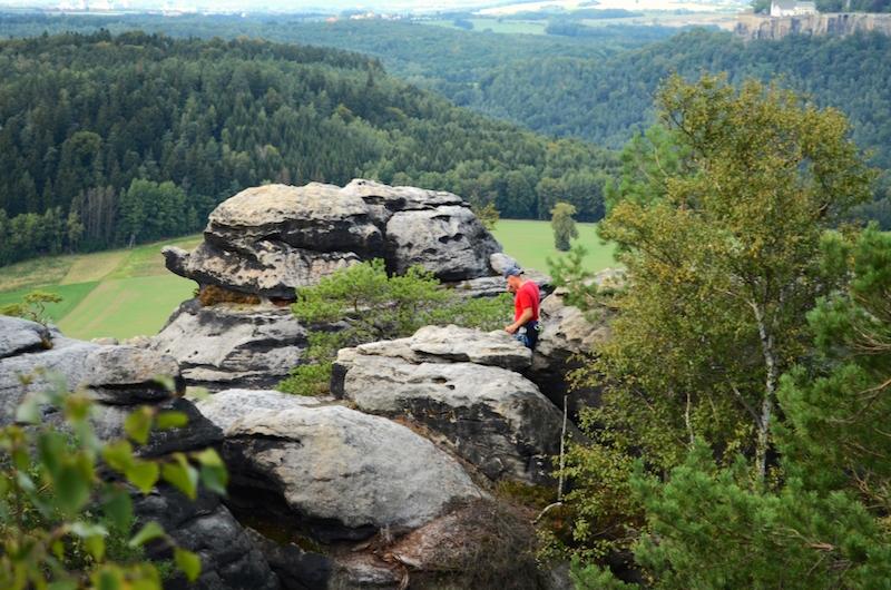 Das Gebiet um den Pfaffenstein lockt mit grandiosen Ausblicken.