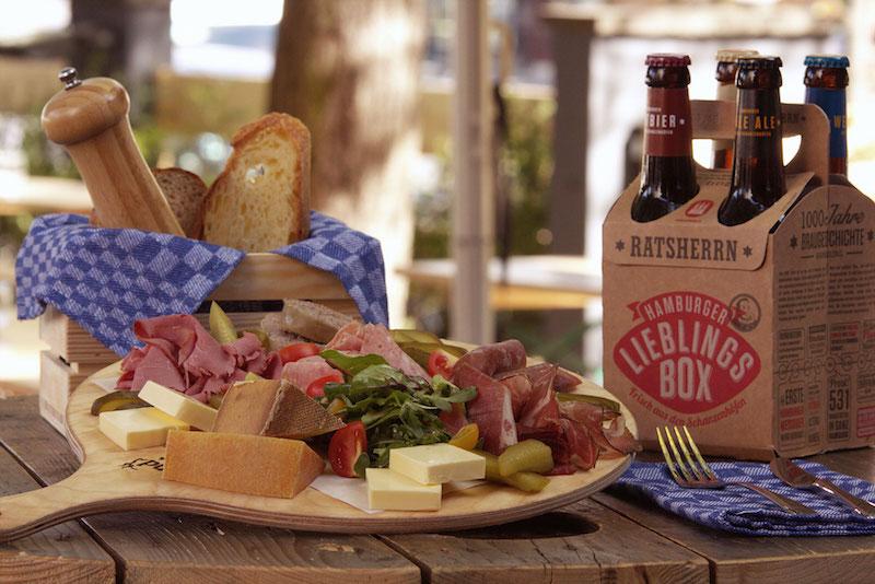 Brotzeit: Käse, Wurst und Bier aus der Region