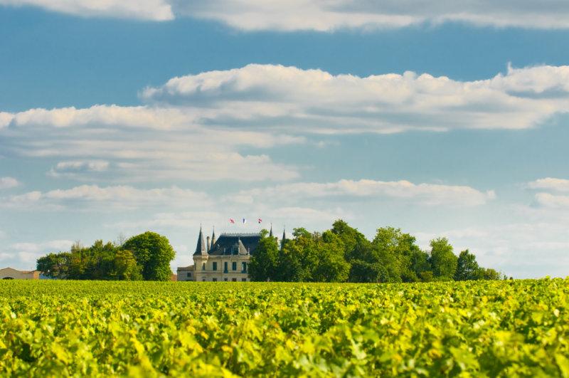 Weinbaugebiet Bordeaux