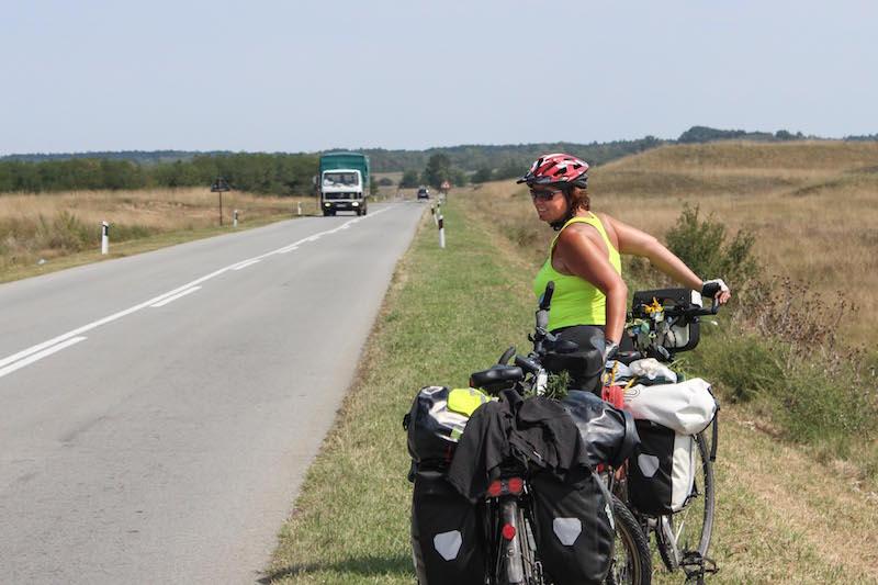 Donauradweg ans schwarze Meer