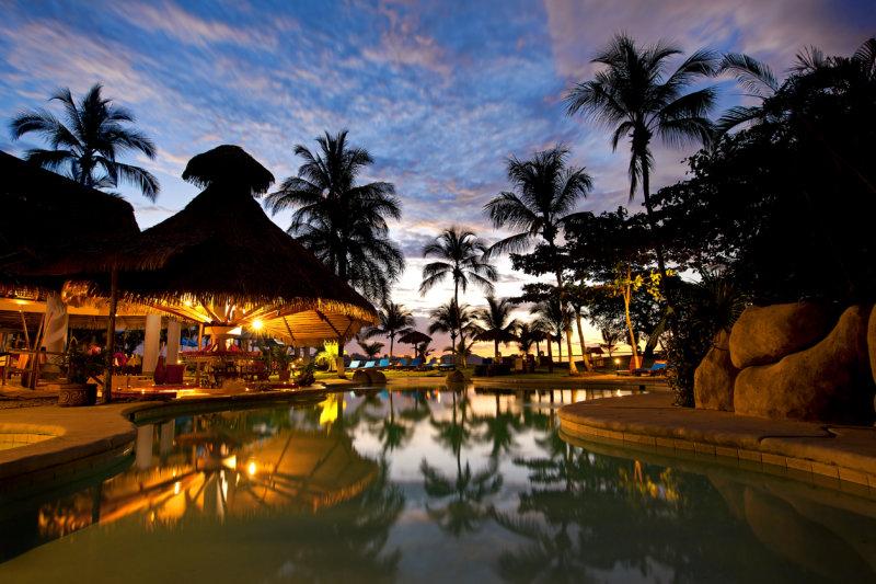 Abendaufnahme Resort
