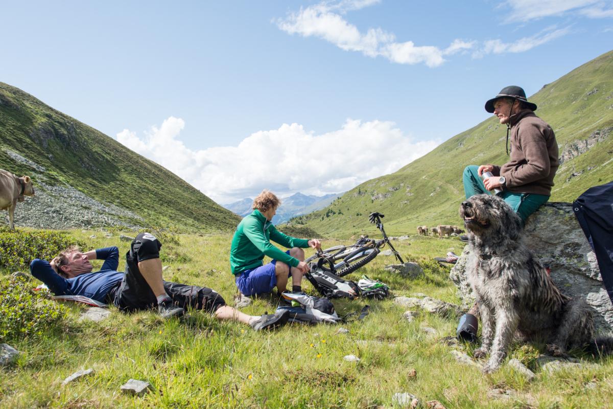 Pause Alpe Prasüra