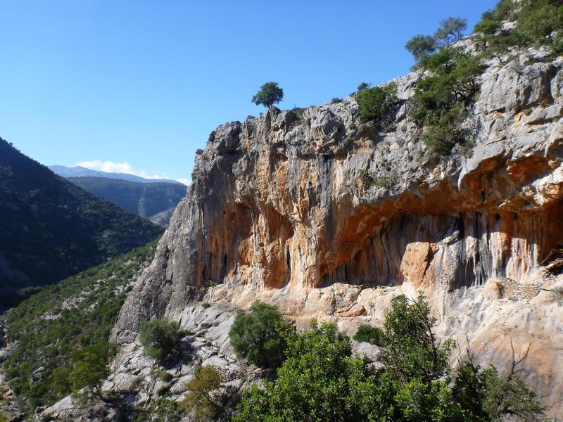 Klettern am Sektor Maison de chevres Leonidio