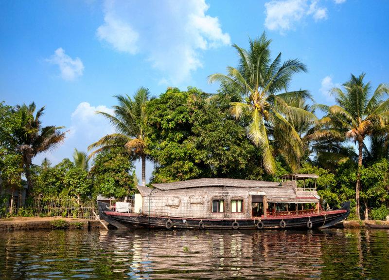 Flusskreuzfahrt Kerala – Kettuvallam-Hausboot