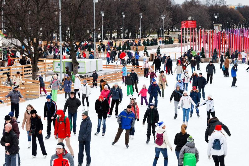 Eislaufen Gorki Park
