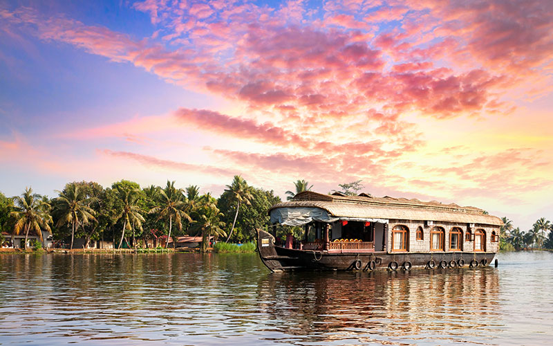 Flusskreuzfahrt Kerala – Wo Indien ganz leise ist