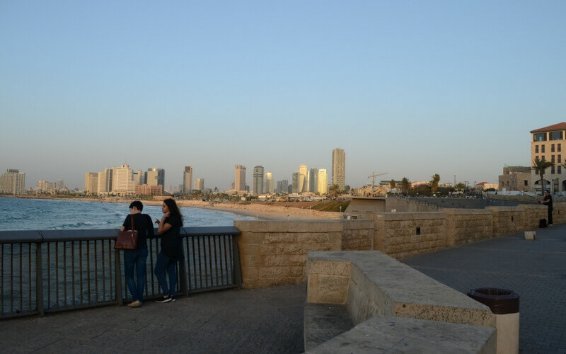 Israel, Blick auf die Skyline von Tel Aviv