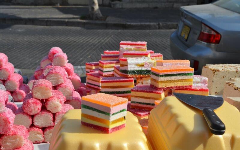 Süßigkeiten auf Israels Märkten