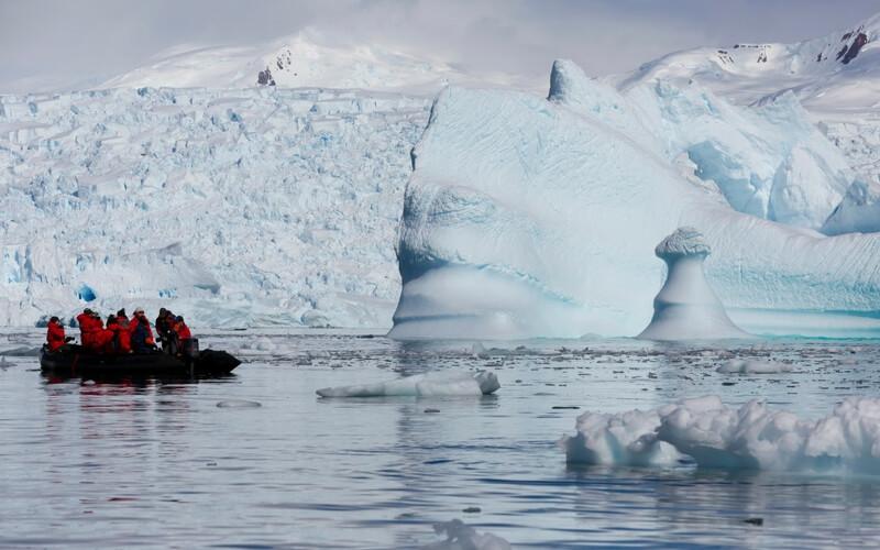 Eis im hohen Norden Kanadas