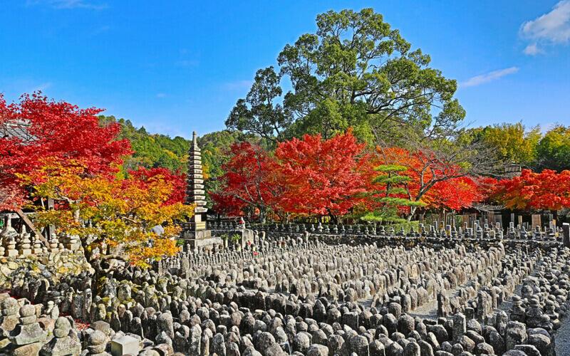 Adashino Nenbutsu-ji, Kyoto