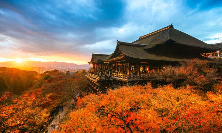 Kyoto Herbstlaubfärbung