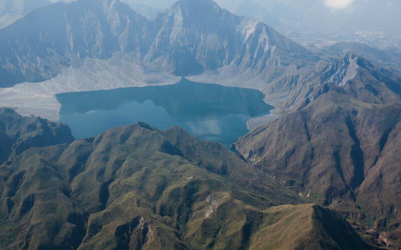 Ein einmaliger Ausblick vom Pinatubo