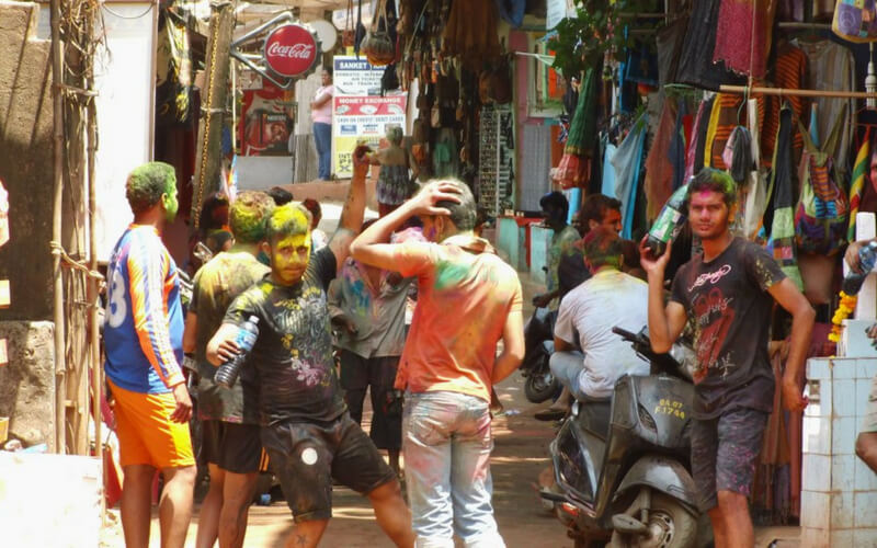 Indiens enge Straßen