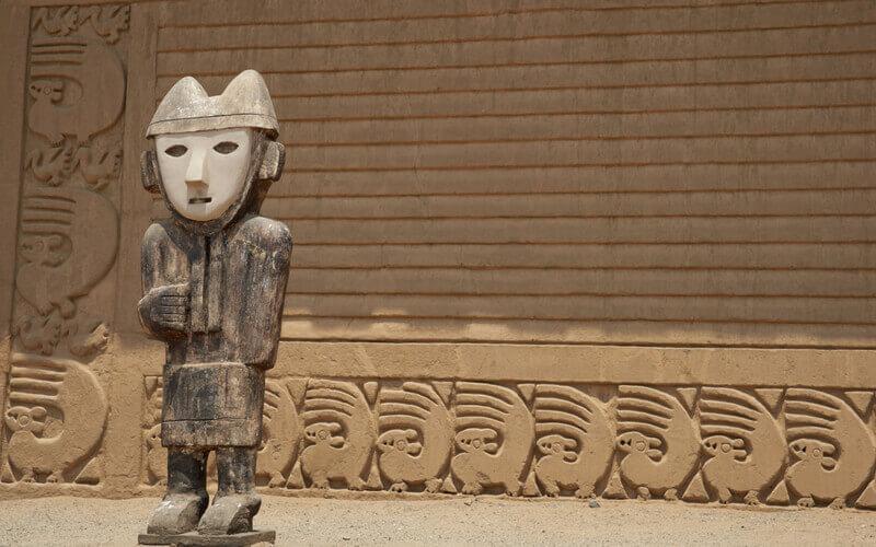 UNESCO Weltkulturerbe Chan Chan.